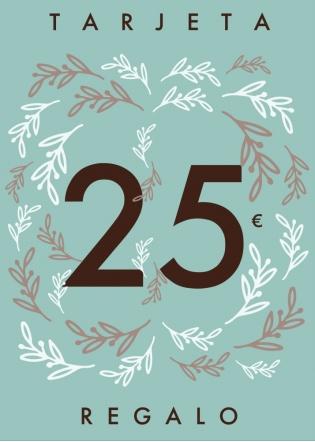 Tarjeta regalo 25€ La Tienda de Cloe