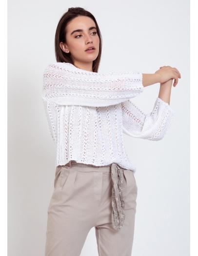 Jersey calas blanco
