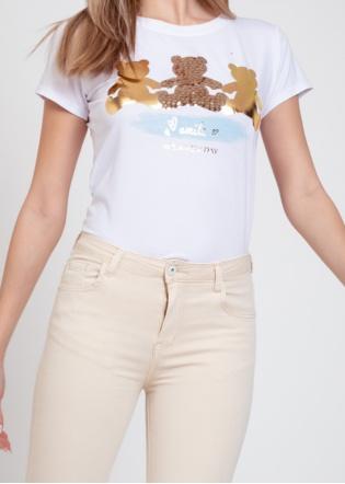 Camiseta osos oro