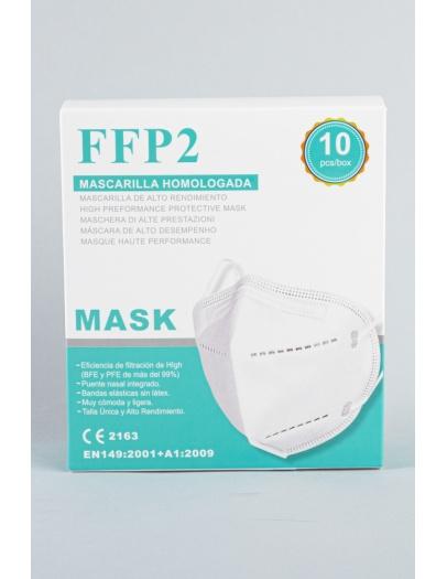 Mascarilla FFP2 blanca