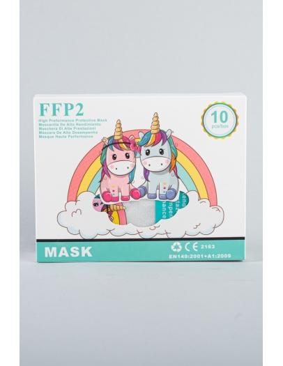Mascarilla FFP2 infantil dibujos