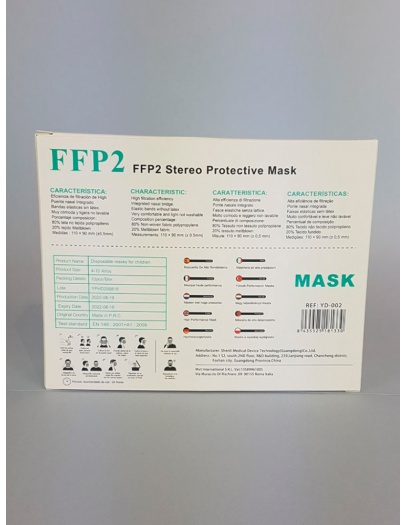 Mascarilla FFP2 Infantil variada