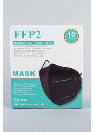 Mascarilla FFP2 negra