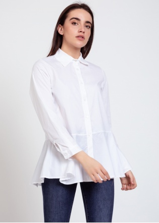 Camisa Teba blanca