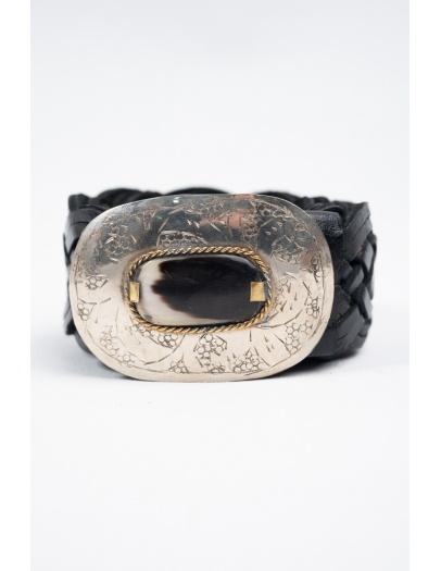 Cinturón Kansas HO negro