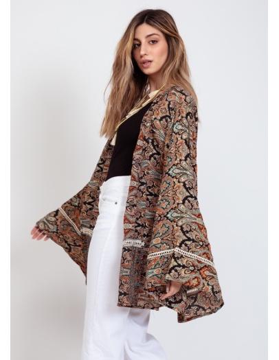 Kimono Eva negro