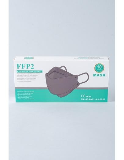 Mascarilla FFP2 3D 8862 gris