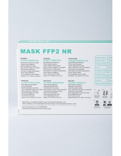 Mascarilla FFP2 3D 8862 variada caja 10 uni