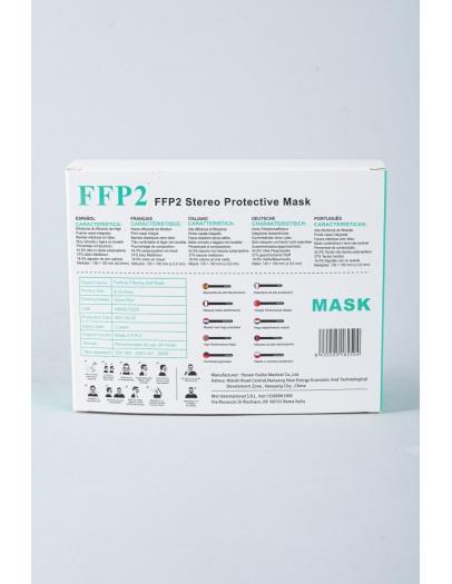 mascarilla FFP2 NR infantil variada   8-12 años