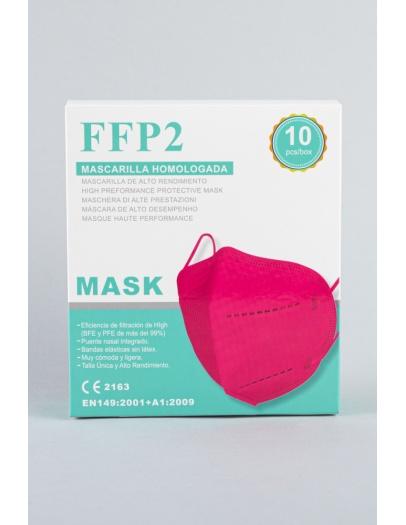 Mascarilla FFP2 Fuxia