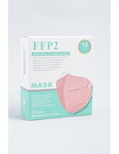 Mascarilla FFP2 melocotón