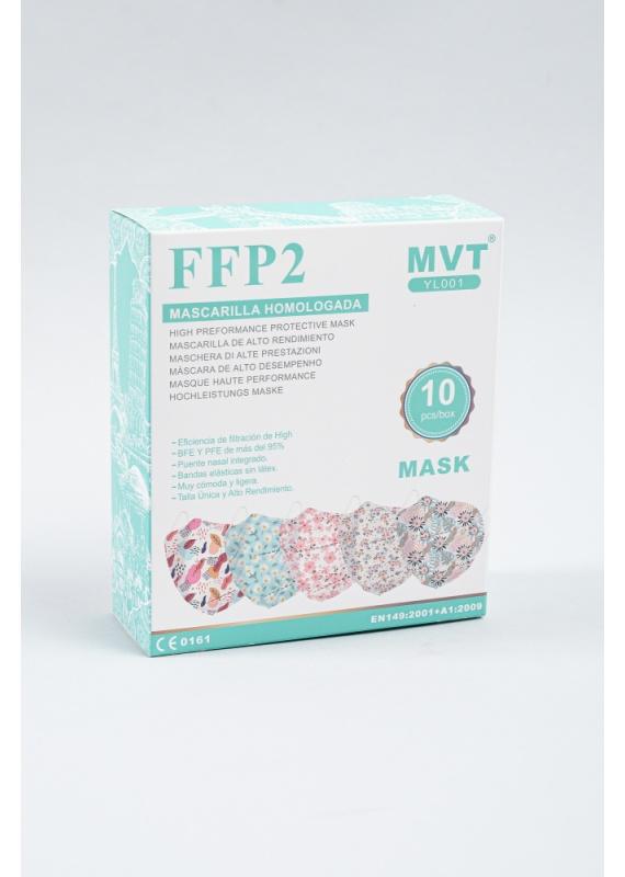 Mascarilla FFP2 Estampada E3