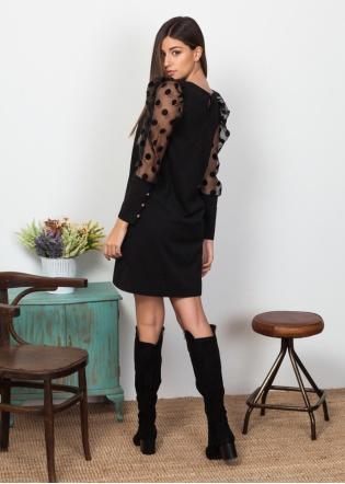 vestido-mangas-tull