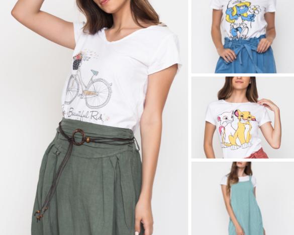 Camisetas en verano La tienda de Cloe